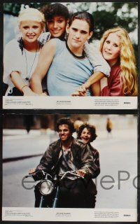 8y436 MY BODYGUARD 8 color 11x14 stills '80 Matt Dillon, Ruth Gordon, uncredited Jennifer Beals!
