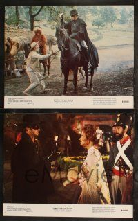 8y691 ZORRO THE GAY BLADE 8 color 11x14 stills '81 zany flamboyant masked hero George Hamilton!