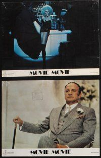 8y029 MOVIE MOVIE 9 English LCs '78 George C. Scott, Stanley Donen directed parody of 1930s movies!