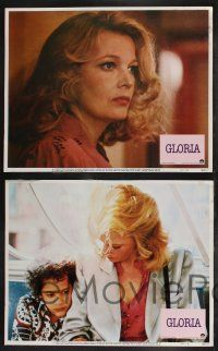 8y253 GLORIA 8 LCs '80 John Cassavetes directed, cool images of Gena Rowlands!