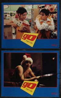 8y254 GO 8 LCs '99 Katie Holmes, Sarah Polley, Jay Mohr, drugs, directed by Doug Liman!