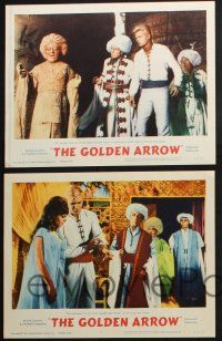 8y796 GOLDEN ARROW 5 LCs '63 Tab Hunter, sexy Rossana Podesta, amazing magic & high adventure!