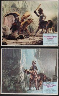 8y256 GOLDEN VOYAGE OF SINBAD 8 LCs '73 Ray Harryhausen, cool fantasy special effects images!