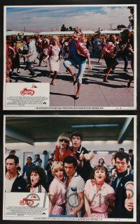 8y258 GREASE 2 8 LCs '82 Michelle Pfeiffer in her first starring role, Maxwell Caulfield