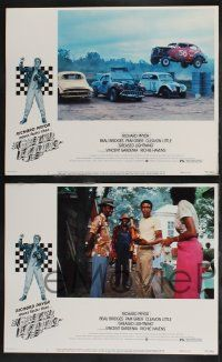 8y259 GREASED LIGHTNING 8 LCs '77 great images of race car driver Richard Pryor!