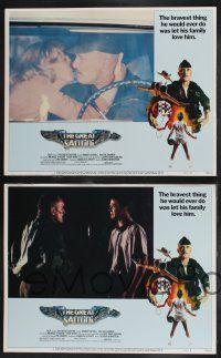 8y260 GREAT SANTINI 8 LCs '79 Robert Duvall, Blythe Danner, Michael O'Keefe, cool border art!