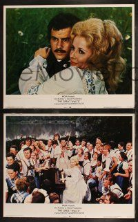 8y856 GREAT WALTZ 4 LCs '72 Horst Buchholz as Johann Strauss, Mary Costa, Nigel Patrick!