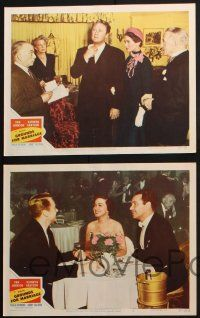 8y799 GROUNDS FOR MARRIAGE 5 LCs '51 Van Johnson & pretty opera singer Kathryn Grayson!