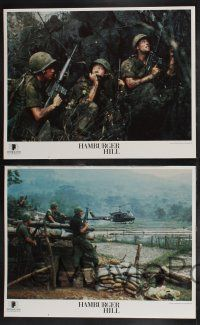 8y265 HAMBURGER HILL 8 LCs '87 Dylan McDermott, Don Cheadle, Michael Boatman, Vietnam War!