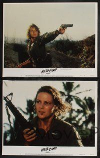 8y273 HELL CAMP 8 LCs '86 cool images of Tom Skerritt & Lisa Eichhorn as soldiers!