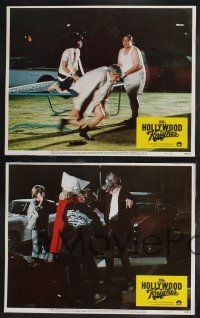8y282 HOLLYWOOD KNIGHTS 8 LCs '80 Robert Wuhl, Fran Drescher, motion picture that moons man on land