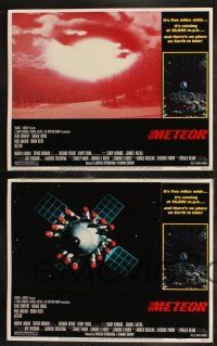 8y410 METEOR 8 LCs '79 AIP, Sean Connery, Natalie Wood, sci-fi disaster!