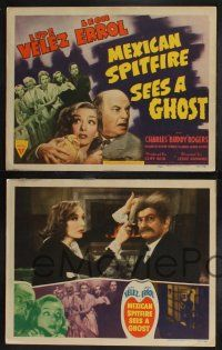 8y411 MEXICAN SPITFIRE SEES A GHOST 8 LCs '42 Lupe Velez & Leon Errol in a haunted house!