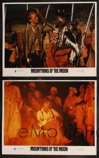 8y428 MOUNTAINS OF THE MOON 8 LCs '90 Bob Rafelson, Patrick Bergin, great Africa images!