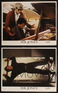 8y431 MR. JONES 8 LCs '93 great romantic images of Richard Gere & sexiest Lena Olin, w/ Tom Irwin!