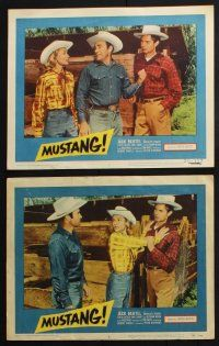 8y757 MUSTANG 6 LCs '59 Jack Buetel, Madalyn Trahey, out of the savage west!