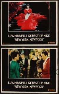 8y448 NEW YORK NEW YORK 8 LCs '77 Robert De Niro, Liza Minnelli, directed by Martin Scorsese!