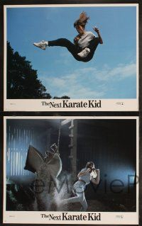 8y449 NEXT KARATE KID 8 LCs '94 Pat Morita, Hilary Swank, Michael Ironside, martial arts!
