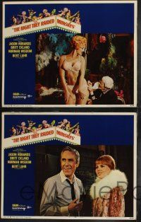 8y455 NIGHT THEY RAIDED MINSKY'S 8 LCs '68 Jason Robards, Britt Ekland, sexy dancers!