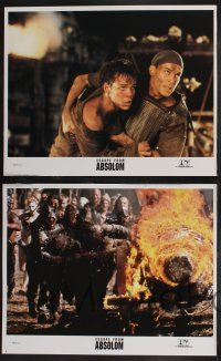 8y456 NO ESCAPE 8 int'l LCs '94 Ray Liotta, Lance Henriksen, Ernie Hudson, Escape From Absolom!