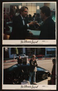 8y457 NO MAN'S LAND 8 LCs '87 Charlie Sheen, D.B. Sweeney, Lara Harris, Randy Quaid