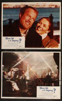 8y668 WHOSE LIFE IS IT ANYWAY 8 LCs '81 Richard Dreyfuss, John Cassavetes, Christine Lahti