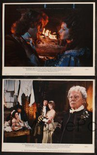 8y669 WICKED LADY 8 LCs '83 Michael Winner, cool art of Faye Dunaway w/pistol and whip!