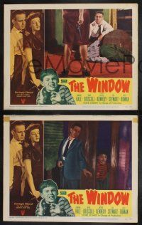 8y951 WINDOW 3 LCs '49 not even the police will help young Bobby Driscoll, who is marked for murder