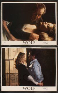 8y675 WOLF 8 LCs '94 Jack Nicholson, Michelle Pfeiffer, James Spader, directed by Mike Nichols!