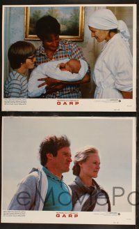 8y677 WORLD ACCORDING TO GARP 8 LCs '82 Robin Williams, Mary Beth Hurt, Glenn Close!