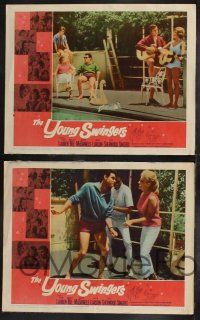 8y688 YOUNG SWINGERS 8 LCs '63 it's a real hot Hootenanny with a bundle of young swingers!