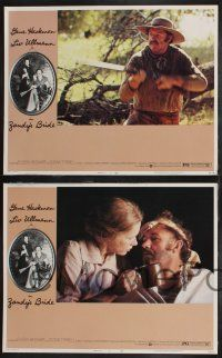 8y690 ZANDY'S BRIDE 8 LCs '74 Gene Hackman & Liv Ullmann get married, then fall in love!
