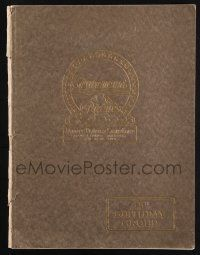 9h248 PARAMOUNT 1926-27 campaign book '26 Metropolis, W.C. Fields, the best such book ever!
