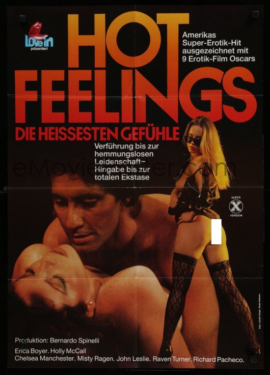 9k193 Hot Feelings German 80s Erica Boyer Image Of Couple Sexy Woman In Stockings