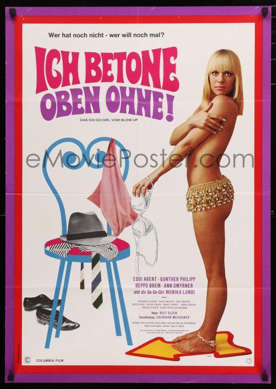 eMoviePoster.com: 9r716 DAS GO-GO-GIRL VOM BLOW UP German