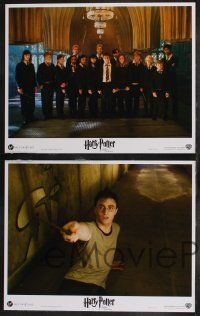 9s018 HARRY POTTER & THE ORDER OF THE PHOENIX 10 LCs '07 Daniel Radcliffe, Emma Watson, Grint
