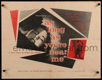 9w020 AS LONG AS YOU'RE NEAR ME 1/2sh '56 Maria Schell strangely lived her love-life twice!