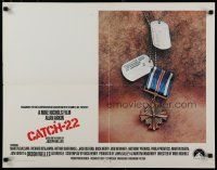 9w048 CATCH 22 1/2sh '70 directed by Mike Nichols, based on the novel by Joseph Heller!