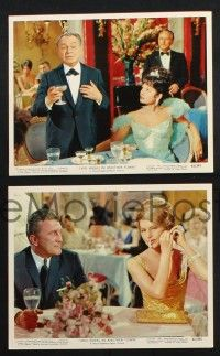 1e004 2 WEEKS IN ANOTHER TOWN 12 color 8x10 stills '62 Kirk Douglas, Charisse, Edward G. Robinson!