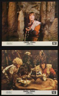 1e069 CARAVAN OF COURAGE 8 8x10 mini LCs '84 An Ewok Adventure, Star Wars, great images!