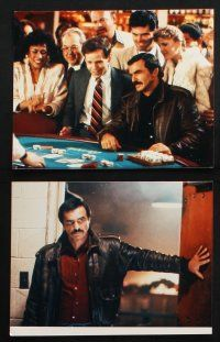 1e003 HEAT 14 color Dutch 8x10 stills '86 Burt Reynolds, protection is his business, gambling!
