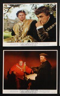 1e029 MAN FOR ALL SEASONS 11 color 8x10 stills '66 Paul Scofield, Robert Shaw, Orson Welles!