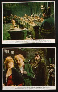 1e040 OLIVER 10 color 8x10 stills '69 Charles Dickens, Mark Lester in title role, Moody, Reed!