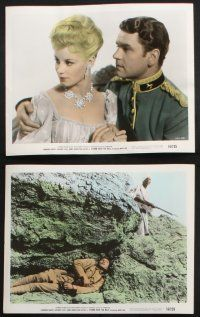 1e042 STORM OVER THE NILE 10 color 8x10 stills '56 Laurence Harvey, Anthony Steele, Mary Ure,Justice
