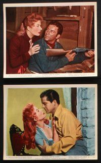 1e014 STRANGE LADY IN TOWN 12 color 8x10 stills '55 Greer Garson, Dana Andrews, Cameron Mitchell