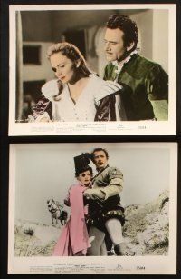 1e046 THAT LADY 10 color 8x10 stills '55 Gilbert Roland, Olivia de Havilland , Terence Young!