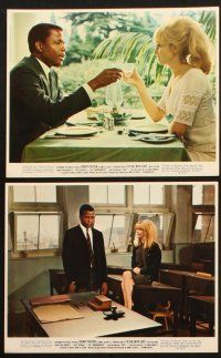 1e022 TO SIR, WITH LOVE 12 color 8x10 stills '67 Sidney Poitier, Geeson, directed by James Clavell!