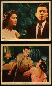 1e023 TOWARD THE UNKNOWN 12 color 8x10 stills '56 great images of William Holden & Virginia Leith!