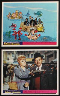 1e066 BEDKNOBS & BROOMSTICKS 8 color English FOH LCs '71 Walt Disney, Angela Lansbury, cool images!