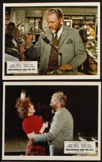1e076 FIVE MILLION YEARS TO EARTH 8 color English FOH LCs '67 Quatermass and the Pit!